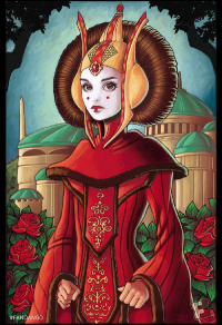 Padmé Amidala from Chrissie Zullo