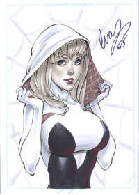 Spider Gwen from Elias Chatzoudis