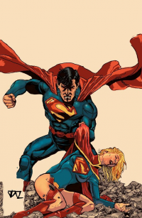 Superman, Supergirl from Tztop
