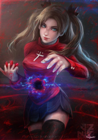 Rin Tohsaka from Aimedz