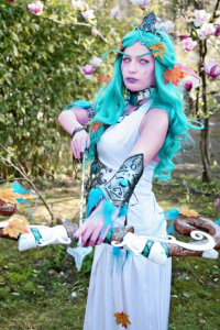 Lara Cosplay as Tyrande Whisperwind