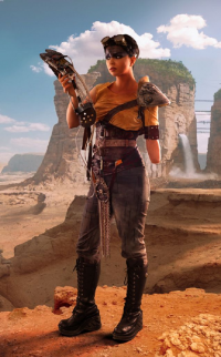 Ferasha Cosplay as Furiosa