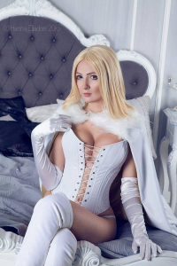 Bellatrix Aiden as Emma Frost