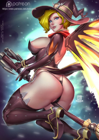 Mercy/Witch from Bokuman