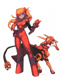 Asuka Langley Soryu from Jared Calder