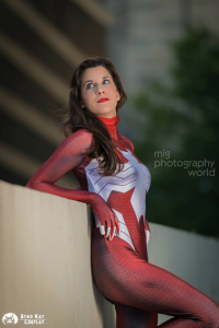 Starkat Cosplay as Spider-Woman