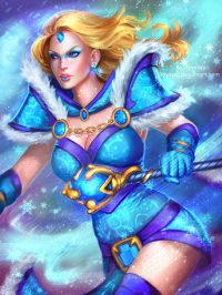 Crystal Maiden from Ayya Saparniyazova