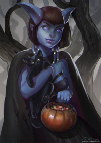 Draenei from Ali Zhao