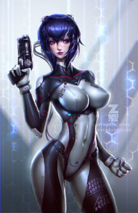 Motoko Kusanagi from Paul Kwon