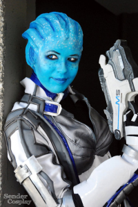 sumyuna as Liara T'Soni
