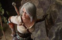 Galina Zhukovskaia as Ciri