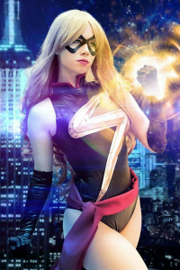 Florencia Jillian Sofen as Ms. Marvel