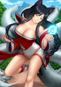 Ahri from Metalbolic