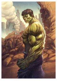 Hulk from Bryan Valenza