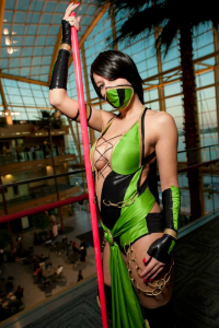 Lucky Grim Cosplay as Jade