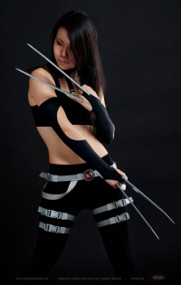Hyokenseisou-Cosplay as X-23