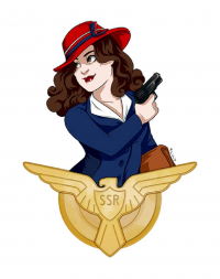 Peggy Carter from M-sciuto