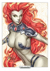 Starfire from Stanley Lau