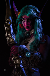AllieCat Art & Cosplay as Tyrande Whisperwind