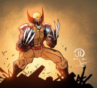 Wolverine from ravencolors