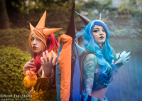 Aurora Vix Cos as Charizard, Dovahkulaas Cosplay as unknown character
