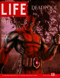 Deadpool from alurasiren