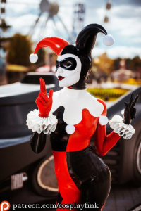 Christina Fink as Harley Quinn