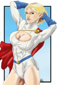 Power Girl von Amenoosa