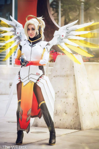 Oshley Cosplay as Mercy