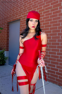 Ammiecosplay as Elektra