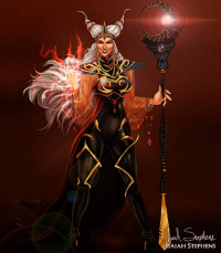 Rita Repulsa from Isaiah Stephens