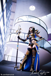 Svetlana Quindt as Protoss Wizard