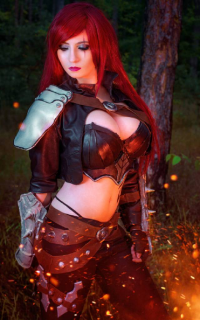 Suisen Cosplay as Katarina