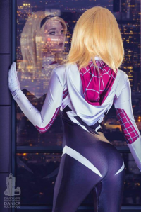 Dahlia Thomas as Spider Gwen