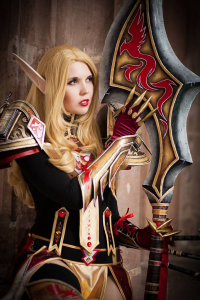 Svetlana Quindt as Blood Elf/Paladin