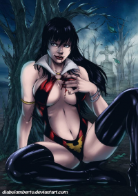 Vampirella from Diabolumberto