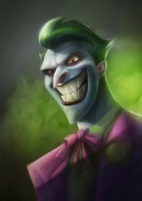 The Joker from Francis Gray