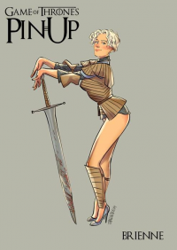 Brienne of Tarth from Andrew Tarusov