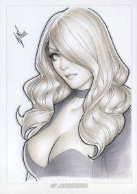 Black Canary from Art of Warren Louw