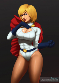 Power Girl from Art of Akiru