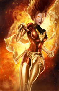 Dark Phoenix from Blake Henriksen