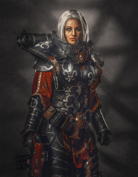 Arwenias Kreativeck as Sister of Battle