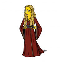 Cersei Lannister/The Simpsons from Adrien Noterdaem
