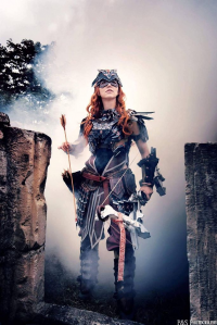 Ketrin cosplay as Aloy