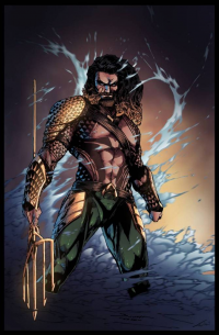 Aquaman from Bruno Furlani