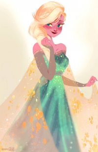 Elsa of Arendelle from Abigail L. Dela Cruz