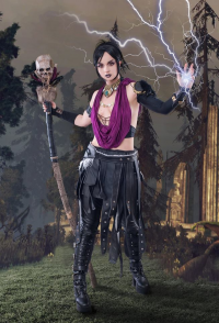 Ferasha Cosplay as Morrigan