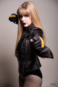 Genevieve Marie as Black Canary