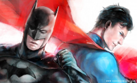Batman, Superman from Hai Ning