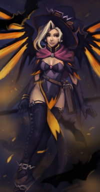 Mercy/Witch from Luciformstudios